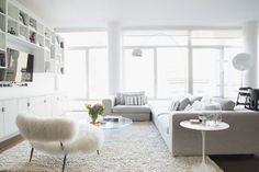 Minimalist Loft Brings Masculine And Feminine Together In Perfect Harmony   designed by Homepolish interior designer Alison Causer