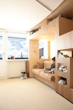 滑雪勝地公寓改造