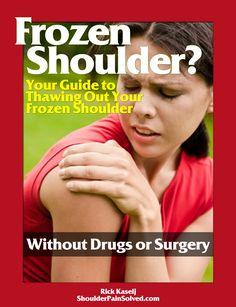 Frozen Shoulder Client Guide Exercises for Frozen Shoulder. Don't forget seated rows and other scap exercises