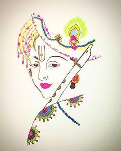 New cars design portfolio sketches Ideas Lord Krishna Sketch, Ganesha Sketch, Krishna Drawing, Shree Krishna Wallpapers, Radha Krishna Wallpaper, Bal Krishna, Krishna Art, Radhe Krishna, Pichwai Paintings