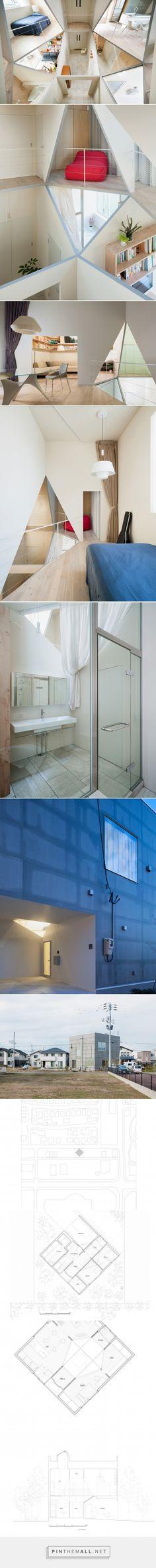 kame house by kochi architect's studio has a hexagonal void - created via http://pinthemall.net
