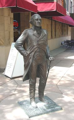 Presidential Walk, Rapid City - Walk among the presidents! Along the street of Rapid several presidents are represented. check