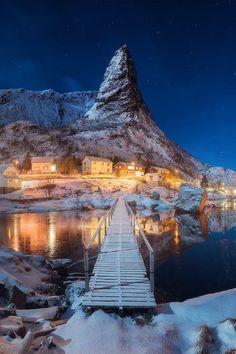 Matterhorn, Lofoten, Norway, by Daniel Korzhonov, on 500px.