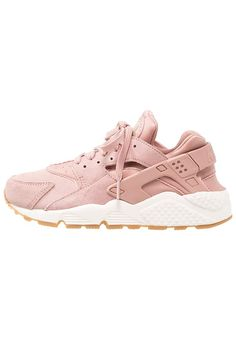 Nike Sportswear AIR HUARACHE RUN SD - Joggesko - particle pink/mushroom/sail/light brown - Zalando.no