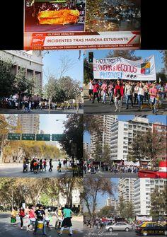 Manifestacao Estudantil em Santiago Chile.Lenalima,fotografa em Belo Horizonte.WWW.LENALIMA.FOT.BR