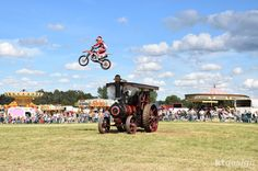 Flyin Ryan Motorcycle Stunts at the 2016 Weeting Steam Engine Rally & Country Show http://www.ktdesign-web.co.uk/blog/the-2016-weeting-steam-engine-rally-country-show