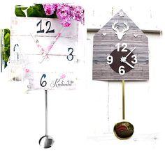 Uhrzeiger selber basteln  Kinderzimmer Uhr basteln ☆ Ritterburg Uhr basteln ☆ inklusive ...