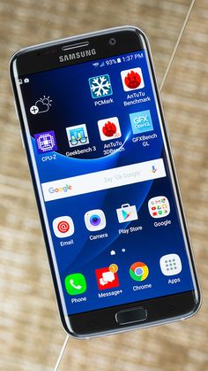 The Samsung Galaxy S7 Edge combines state-of-the-art components with a smart, gorgeous design and a big battery, making it a killer Android smartphone.