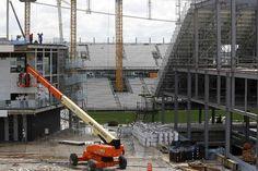 El estadio donde se inaugurará el Mundial Brasil 2014 estará listo sólo unos días antes - Mundial Brasil 2014 - canchallena.com
