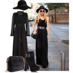 Dresses New and vintage black maxi dress outfits. You will find a maxi dress easily that you have looked for a long time and have a nice Rachel Zoe, Bohemian Mode, Boho Fashion, Womens Fashion, Estilo Boho, Successful Women, Look Chic, Mode Inspiration, Her Style