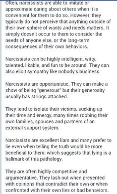 3/6 Narcissistic Sociopath A Help for narcissistic sociopath relationship survivors