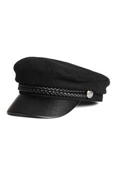 Captain s cap - Black - Ladies  ef6517dc19a