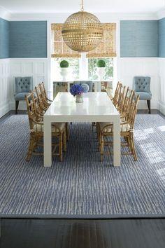 SULLIVAN Room Inspiration, Design Inspiration, Luxury Flooring, Flooring Options, Carpet Flooring, Floor Design, Bamboo Chairs, Area Rugs, Dining Table
