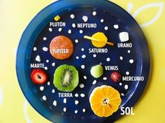 Science: Very fun solar system made from food items via Creative Kid Snacks! Science Classroom, Teaching Science, Science For Kids, Science Activities, Activities For Kids, Space Activities, Creation Activities, Science Ideas, Teaching Kids