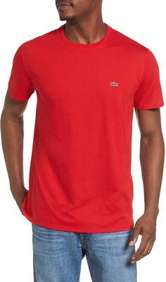 1017b825 Lacoste Men's 3-Pack Essentials Cotton V-Neck T-Shirt   Men - T ...