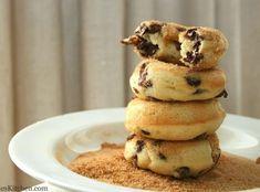 Banana Chocolate Chip Baked Doughnuts Recipe