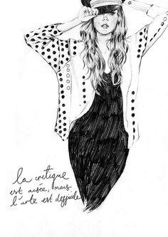Melissa Bailey Fashion Illustration.