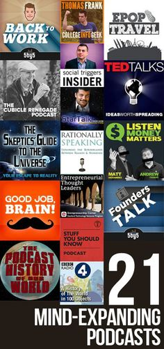 21 awesome educational podcasts that'll grow your brain