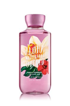 Aloha Waterfall Orchid Shower Gel - Signature Collection - Bath & Body Works