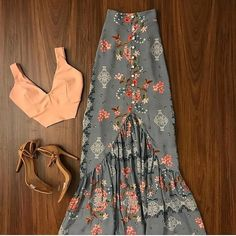 romantic date outfit Cute Casual Outfits, Chic Outfits, Summer Outfits, Summer Dresses, Mode Outfits, Skirt Outfits, Boho Fashion, Fashion Dresses, Womens Fashion