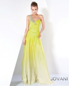 Jovani Ombre Evening Gown