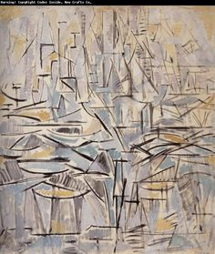 Explore the art, style, and influence of Dutch painter Piet Mondrian. Learn about his approach to Abstract Expressionism and Cubism, connections. Piet Mondrian Artwork, Mondrian Kunst, Abstract Expressionism, Abstract Art, Kandinsky, Francis Picabia, Dutch Painters, Post Impressionism, Monochrom