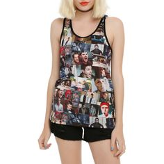 Hot Topic Supernatural The Road So Far Sublimation Girls Tank Top (64 BRL) ❤ liked on Polyvore featuring tops and supernatural