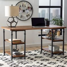 10 Industrial Home Office Desks That You'll Love
