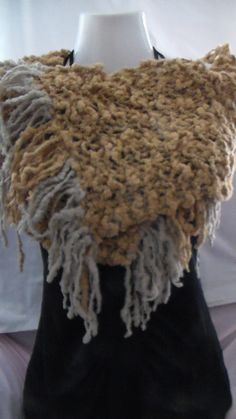 This is how you can wear this Scarf in a different way -