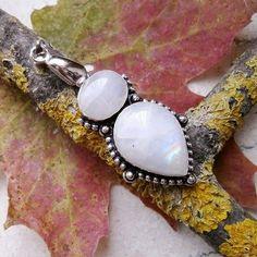 Mondstein, Anhänger, Silber plattiert in Uhren & Schmuck, Echtschmuck, Halsketten & Anhänger | eBay!