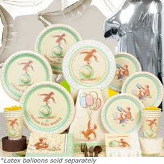 curious george baby shower ideas - Google Search