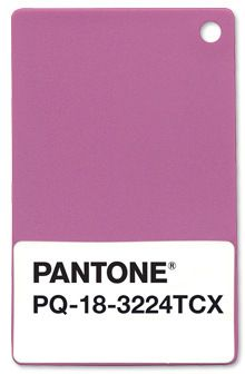 18-3224 Radiant Orchid: Pantone Color of the Year 2014 #color #graphic #pantone
