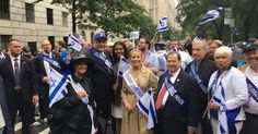 NY shows Israel support