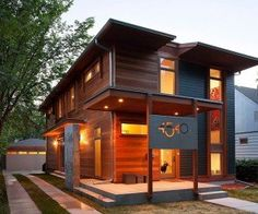 http://www.off-the-grid-homes.net/eco-friendly-homes.html Environmentally friendly properties. Eco-friendly home in Minneapolis: Urban Green (by Sala)