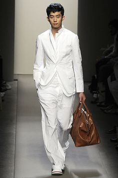 Bottega Veneta Spring 2009 Menswear Fashion Show