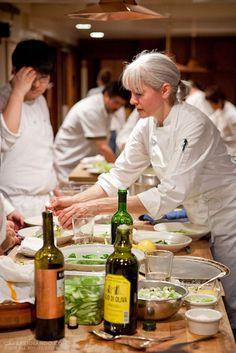 Chez Panisse Restaurant Kitchen. THAT IS THE BEST OLIVE OIL!!