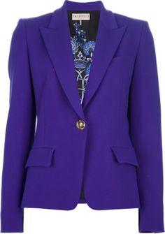 EMILIO PUCCI single button blazer