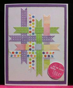 card by Kate Harrower using Kaleidoscope paper