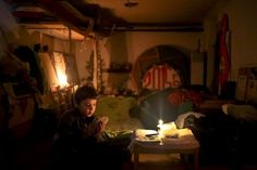 Feb 18, 2015 ANASTASIA VLASOVA/EUROPEAN PRESSPHOTO AGENCY A Respite From the Din of War A child in a village near Debaltseve, Ukraine, played cards on Tuesday in the local Palace of Culture, which is used as a bomb shelter. Fighting in and around Debaltseve threatened to undermine a cease-fire that took effect on Sunday. Page A4.