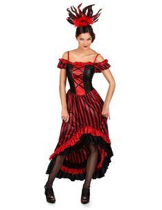 Déguisement danseuse cabaret femme   Deguise-toi, achat de Déguisements  adultes e0d90db71e92