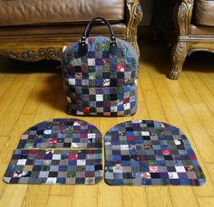 일본 여행 때 함께 해서 얼마나 좋았던지 반한 김에 하나 더 만들기로~ 이제 누비기만 하면 되는구나~ I am now making another quilt-sack which was very useful in my recent travel to Japan. #퀼트#퀼트배낭#퀼트스타그램#패치워크#또하나의#quilt#quiltsack#patchwork#another
