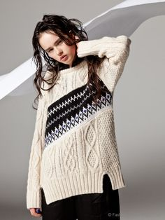 alan with Isle knit