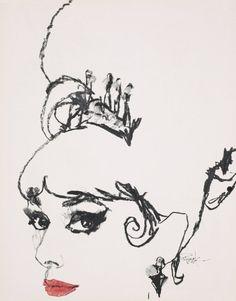"""Bob Peak sketch from """"My Fair Lady"""""""