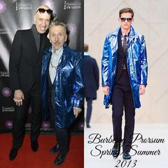 The Derek's Blog: Simon Doonan en Burberry Prorsum - 4th Annual Fashion 2.0 Awards