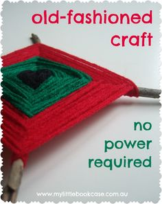 Old fashioned craft - great for fine motor skills.