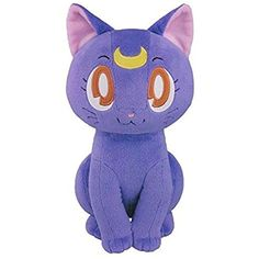 """Banpresto 9.8"""" Sailor Moon HQ Plush Doll Luna *** Click image for more details. (This is an affiliate link) #GrownUpToys"""