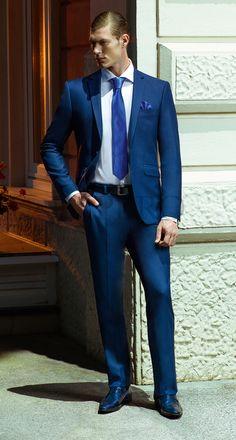 EG KL REG-17 #sposo #groom #suit #abito #wedding #matrimonio #nozze #blu #blue