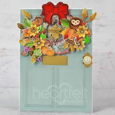 Owl Eyes, You Are The World, Decorative Panels, Autumn Wreaths, Heartfelt Creations, Flower Shape, Blank Cards, Greeting Cards Handmade, Cardmaking