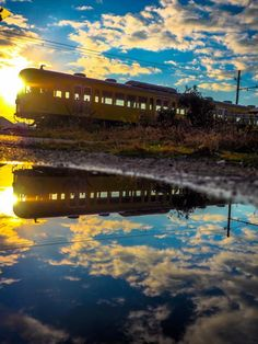 Omi Railway, Shiga, Japan by Yoshinori Nakamura Park Landscape, Fantasy Landscape, Landscape Photos, Landscape Photography, Beautiful World, Beautiful Places, Accel World, Scenery Wallpaper, Anime Scenery