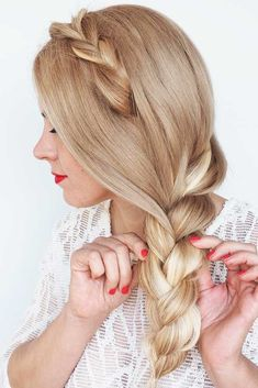 For A Day At The Office � A headband braid, also known as a crown or a halo braid, is a cute half updo or updo hairstyle with a braid around a head. And as for the type of a braid involved, any braid would do here. Make a choice based on your taste. � S